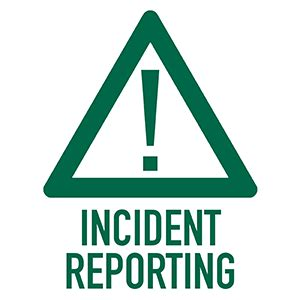 When should you write an incident report